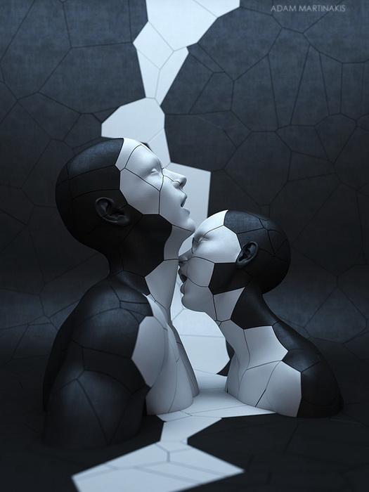 Цифровое искусство. Творчество Адама Мартинакиса (Adam Martinakis)
