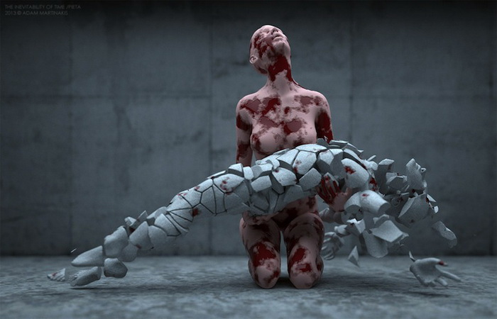 Цифровое искусство творчество адама