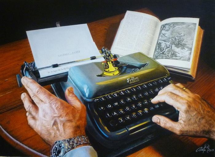 Гиперреалистические рисунки цветными карандашами от Адольфо Фернандеса Родригеса (Adolfo Fernandez Rodriguez)