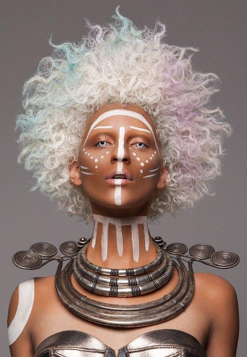 British Hair Awards 2016: афропрически от финалиста конкурса Лизы Фарралл