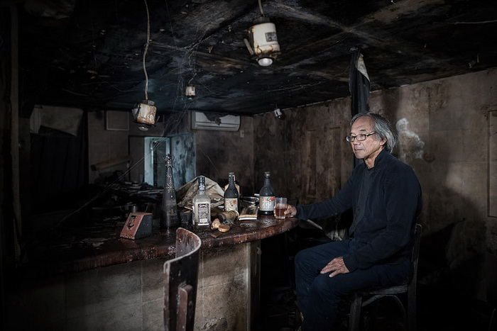 Setsuro Ito в баре