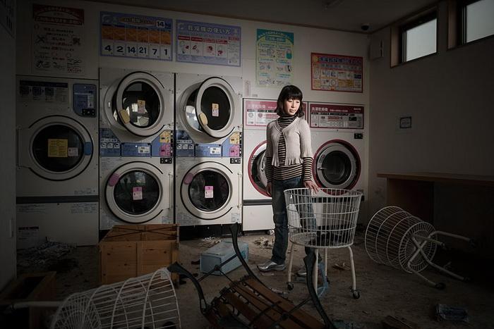 Rieko Matsumotoest в прачечной