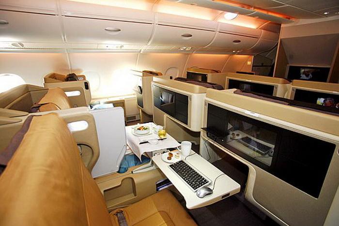 Суперсовременный дизайн самолета А 380