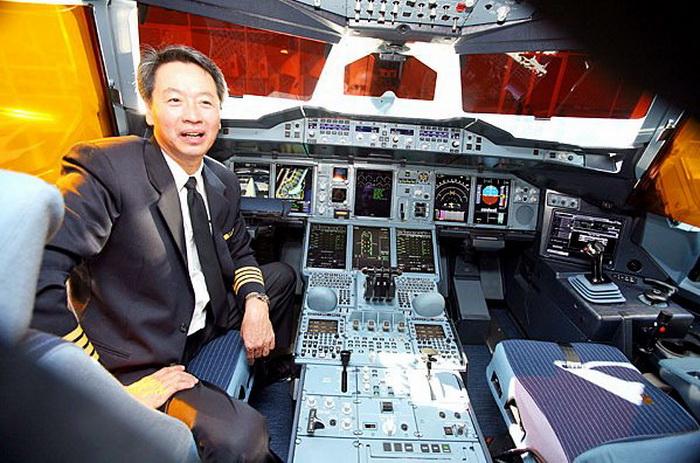 Работать на авиалайнере А 380 - одно удовольствие