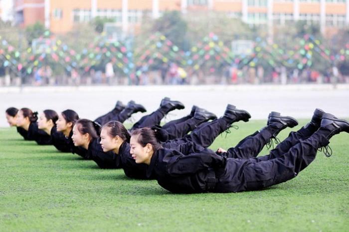 Занятия по физподготовке на свежем воздухе