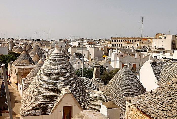 Трулли включены в список Всемирного наследия ЮНЕСКО