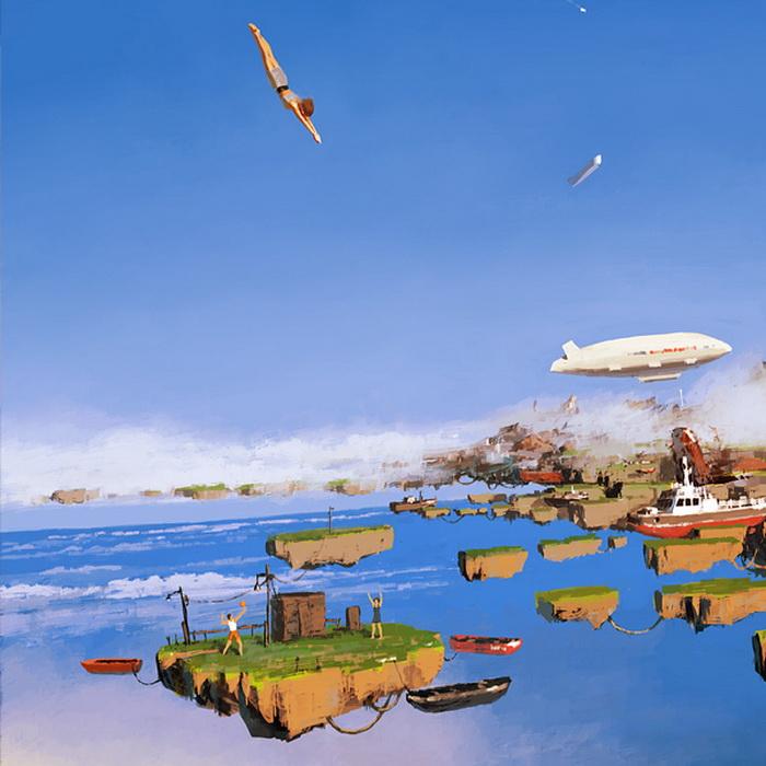Сюрреалистические иллюстрации от Алексея Андреева