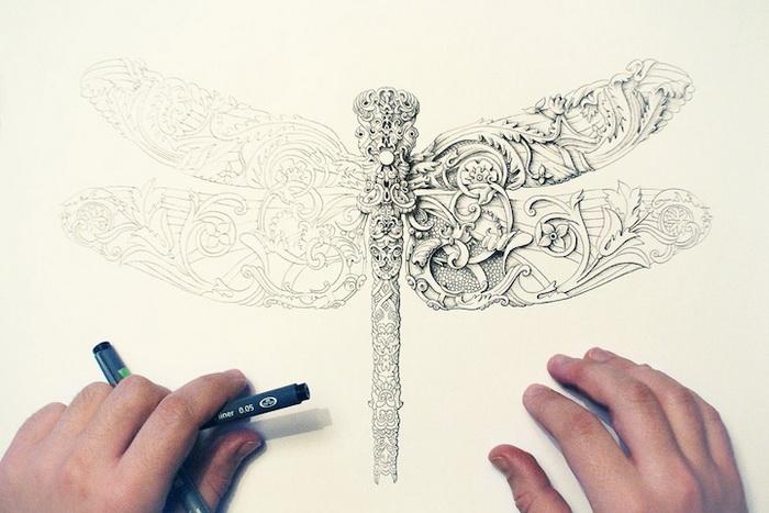 Детализированные картины от Alex Konahins