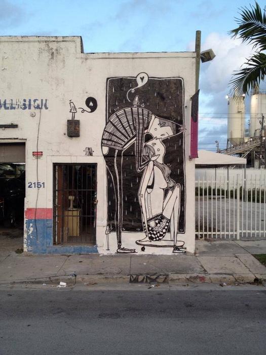Романтический стрит-арт от Алекса Сенны (Alex Senna)