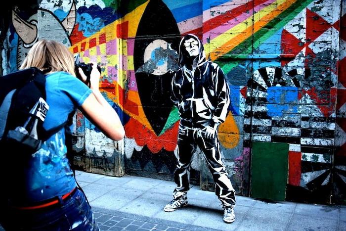 Живые граффити от Алексы Мид (Alexa Meade)