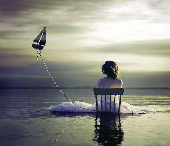 Сюрреалистические автопортреты от Alicia Savage