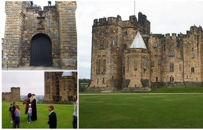Замок Алник в Англии - прототип Школы Чародейства и Волшебства Хогвартс.