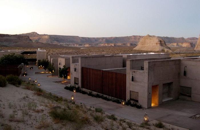 Отель Амангри в самом сердце пустыни Юта