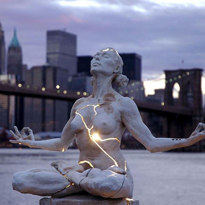 Скульптура «Expansion» от Пэги Брэдли (Paige Bradley), Нью-Йорк