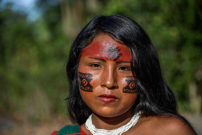 Девушка из племени ваямпи.