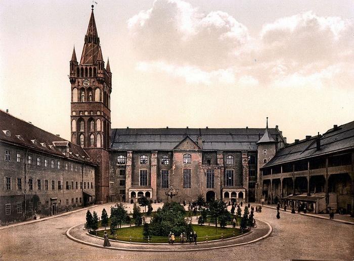 Замок в Кёнигсберг, 1900 год