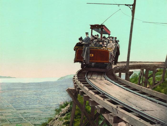 *Американская Одиссея*. Железнодорожный круговой мост, Калифорния