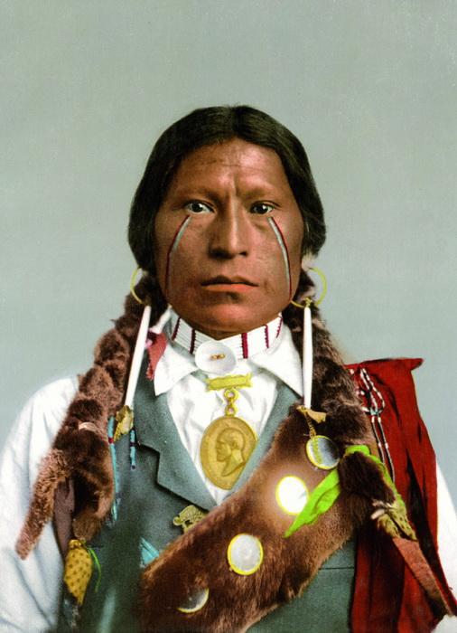 *Американская Одиссея*. Apache Chief James A. Garfield