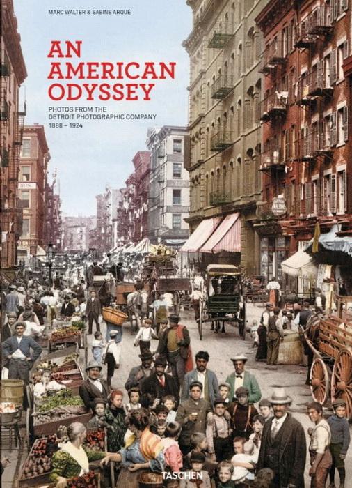 Обложка издания *Американская Одиссея*