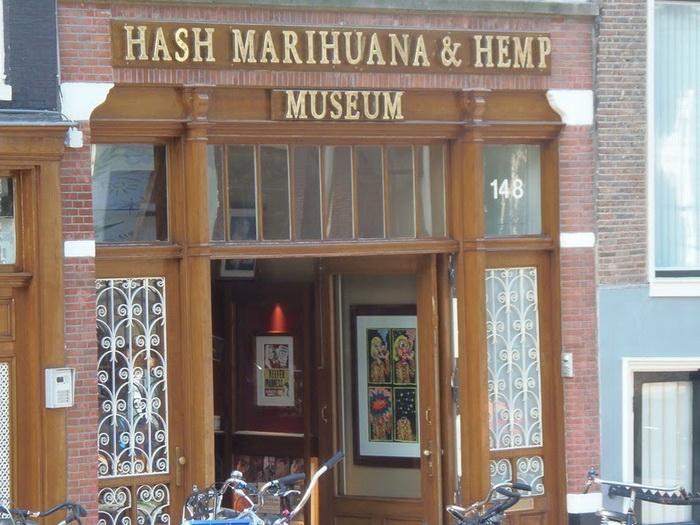 Музей конопли в Амстердаме