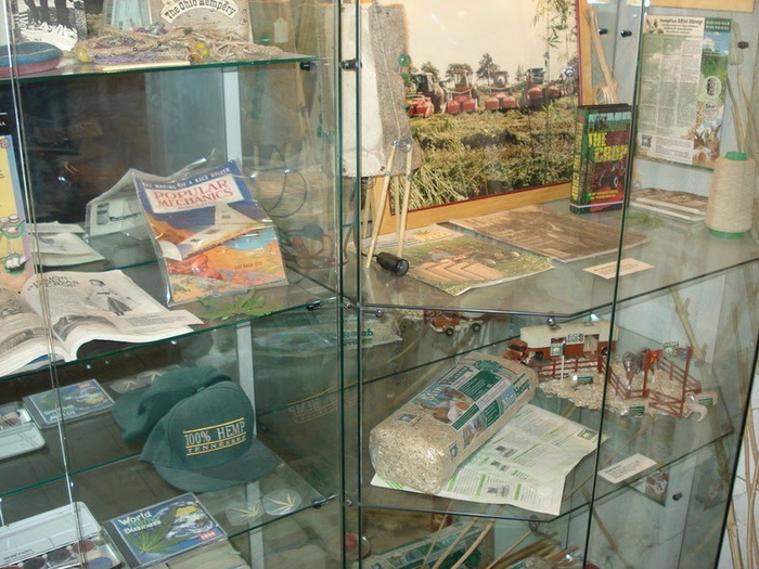 Изделия из конопли в необычном музее