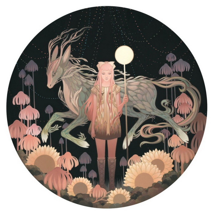 Сказочный мир на картинах Эми Сол (Amy Sol)