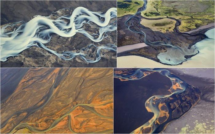 Исландские реки на фотографиях Андрея Ермолаева