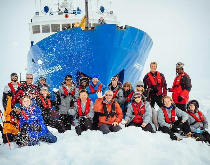 Пассажиры судна «Академик Шокальский»: фоторепортаж от Andrew Peacock