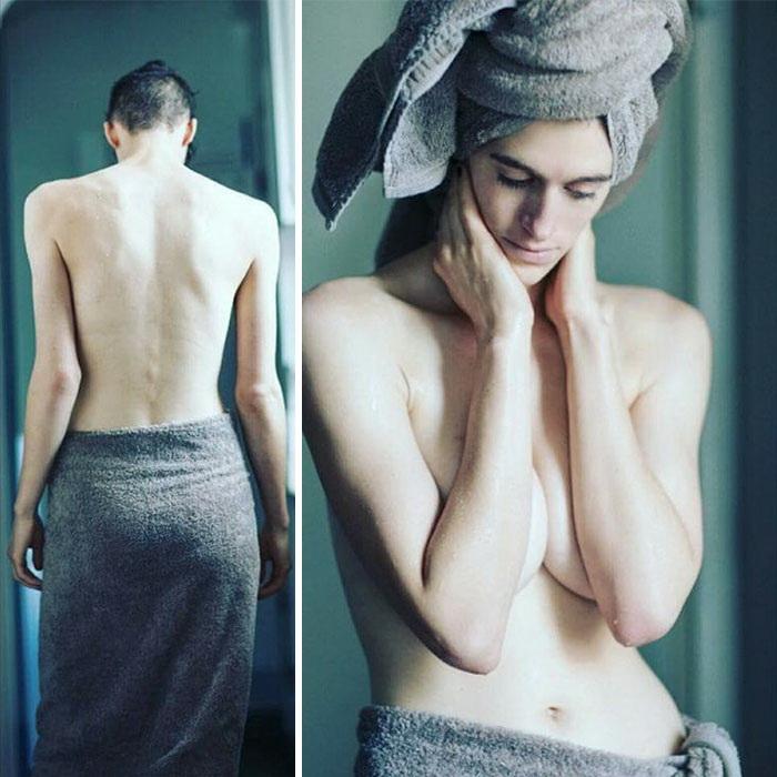 Мужчина или женщина? Фотографии модели Рейн Дав.