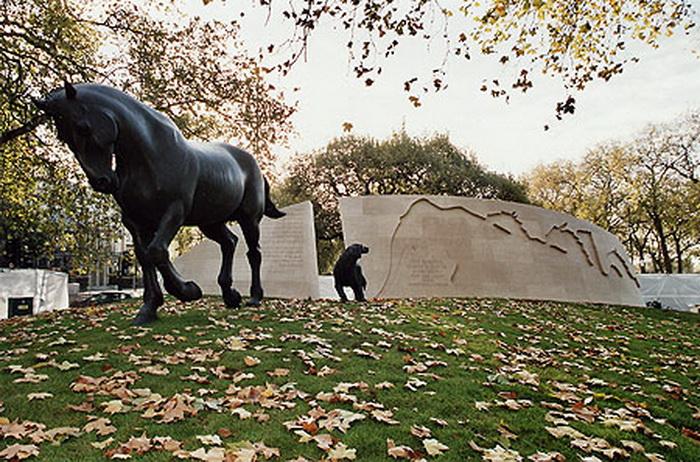 В годы Второй мировой войны в Англии усыпили более 750 тысяч животных.