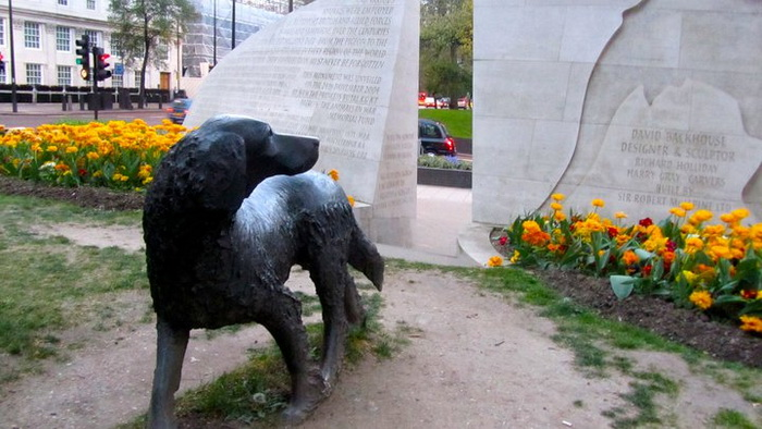 Памятник животным на войне, Гайд-парк, Лондон.