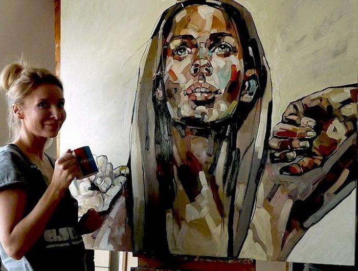 Анна Босек - современная польская портретистка