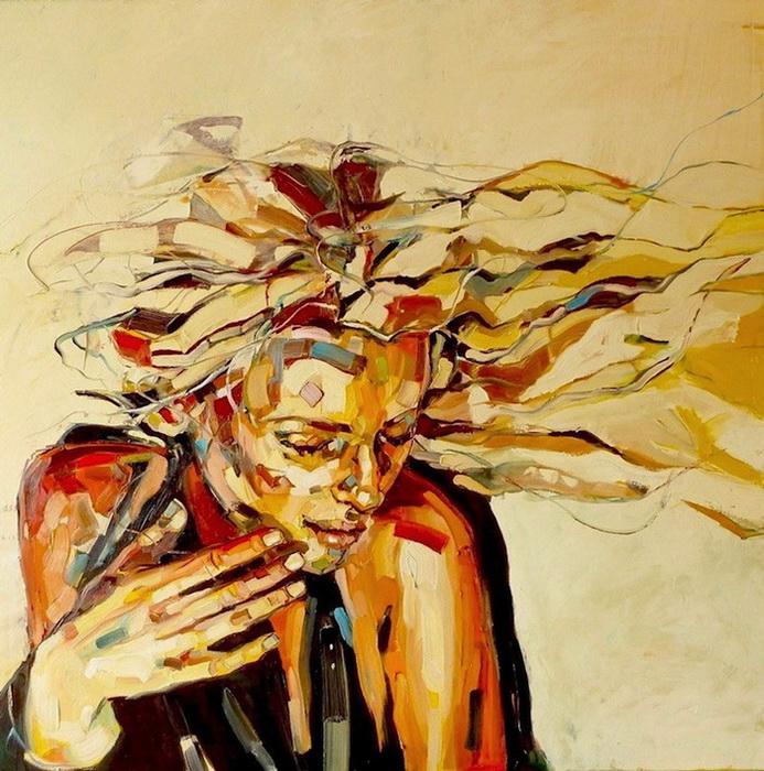 Женские портреты польской художницы Анны Босек