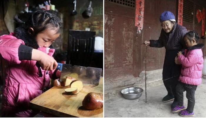 История пятилетней девочки, у которой на попечении бабушка и прабабушка