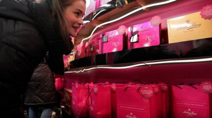 Многие коробки конфет пользуются спросом