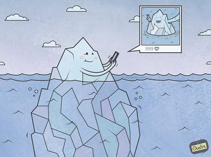 Оценка важна даже... айсбергу