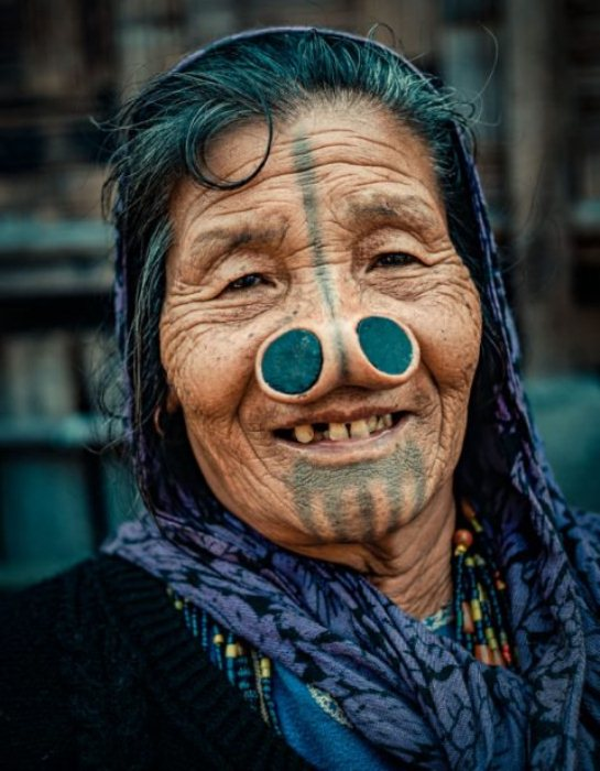 Носовые втулки на местном наречии называются yaping hurlo.