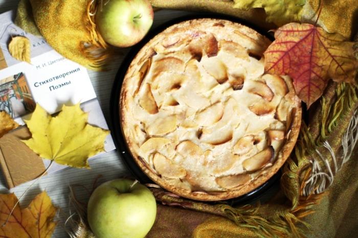 Цветаевский яблочный пирог. Фото: gingerpage.com