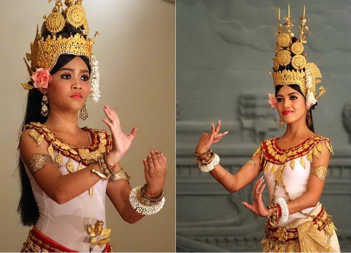 Апсары - очаровательные танцовщицы Камбоджи. Фотограф: Андрей Хуторской