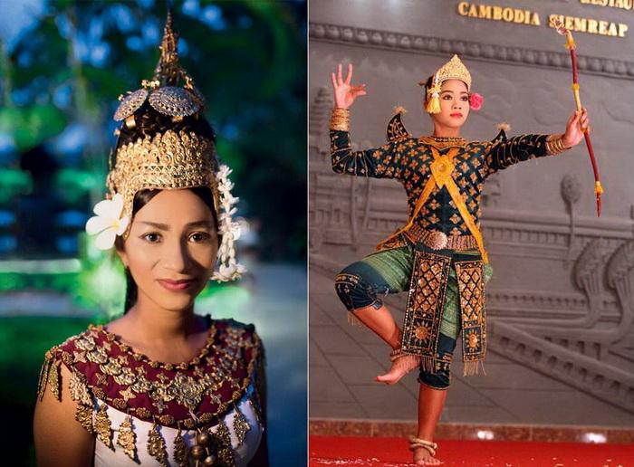 Завораживающие и прекрасные танцовщицы-апсары