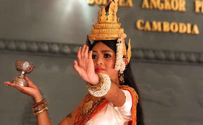 Апсары - очаровательные танцовщицы Камбоджи