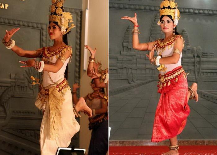 В основе каждого танца лежит сюжет из жизни богов или кхмеров