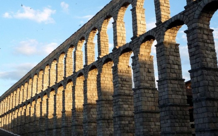 Акведук Segovia (Испания)