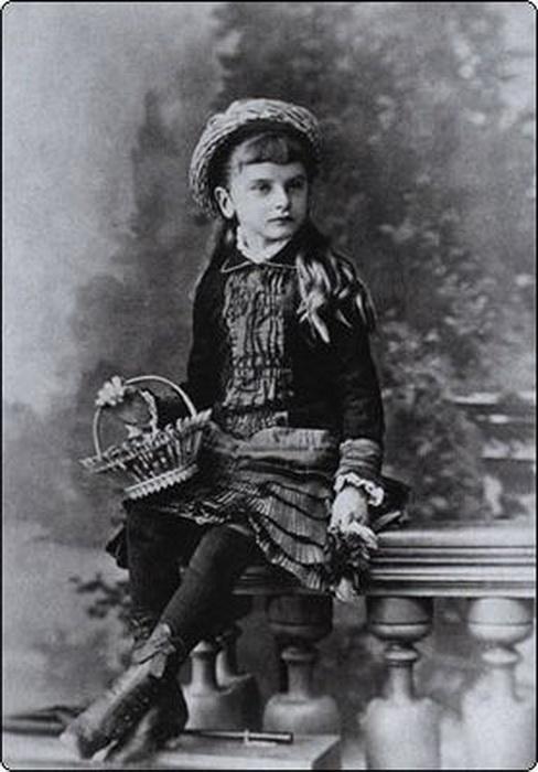 Детское фото Инессы Арманд