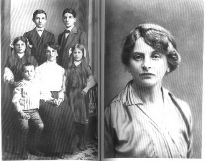 Инесса Арманд с детьми
