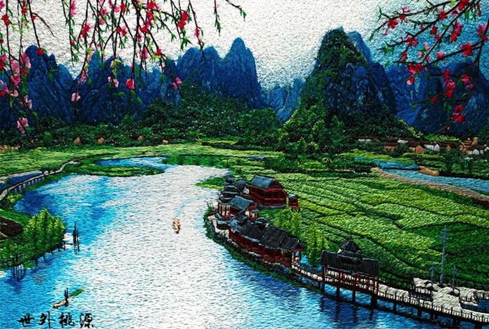 Искусство шелка: легендарная сучжоуская вышивка на современный манер