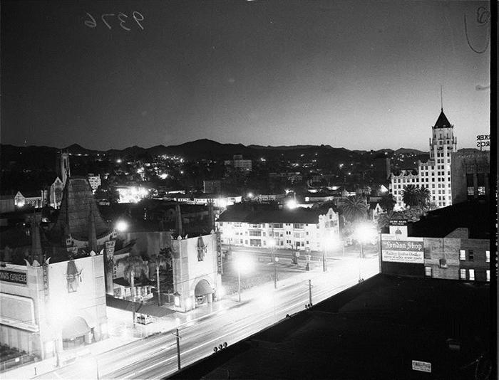 Атомный взрыв 1951 года. Вид на Лос-Анджелес