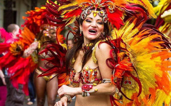 Карнавал Ноттинг-Хилл в Лондоне