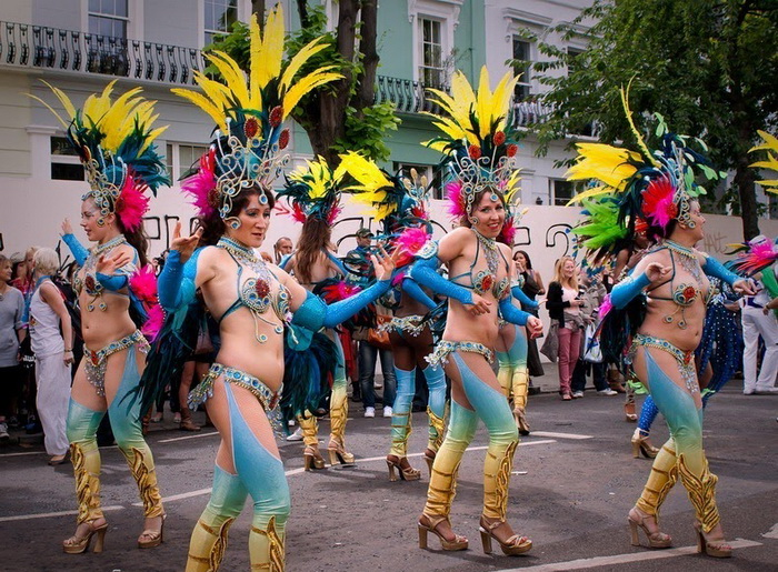 Ноттинг-Хилл - один из крупнейших уличных карнавалов в мире