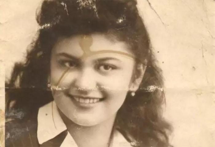 Эдит Штайнер в молодости.